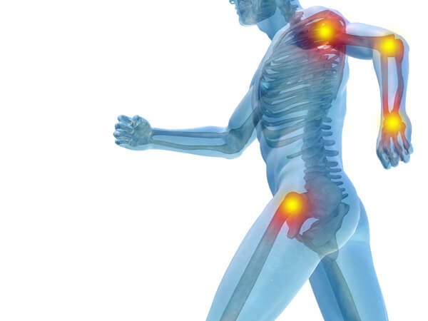 widespread pain caused by fibromyalgia