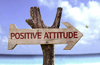 positive attitude is key to preventing anxiety, acupuncture can help