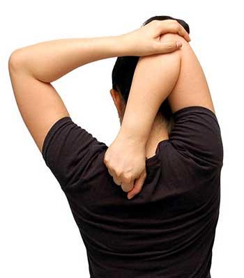 frozen shoulder management by stretching